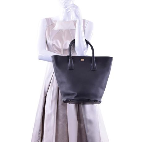Dolce & Gabbana Shopper Schwarz Verschleißfestigkeit BxkEA