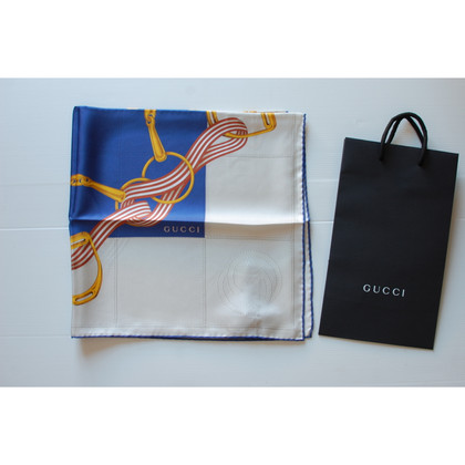 Gucci Silk scarf with print