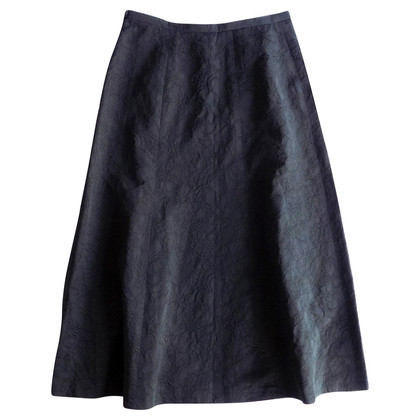 Max Mara Long Jacquard skirt