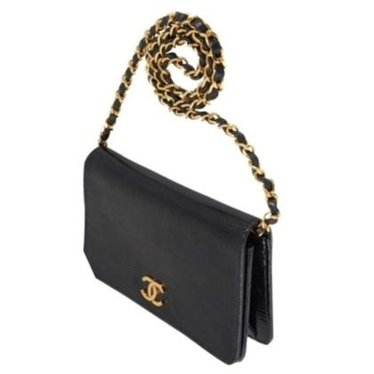 Chanel Mini Flap Bag aus Eidechsenleder