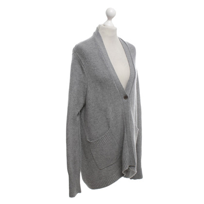 Allude Oversized cardigan in grey
