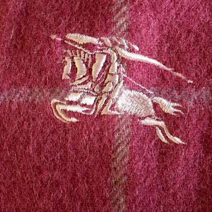 Burberry scialle di lana in rosa