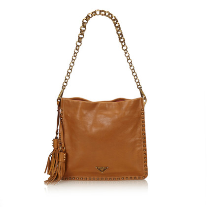 Prada Studded Leather Chain Bag