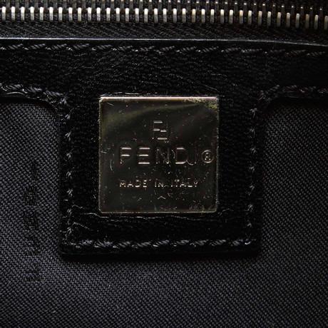 Beeile Dich Zum Verkauf Günstigen Preis Fendi Handtasche in Schwarz Schwarz Spielraum Niedrig Kosten Neuer Stil Billig Kaufen Authentisch TT7NHQ3
