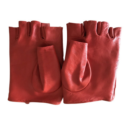 Karl Lagerfeld Gloves in red