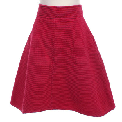 Carven skirt in red