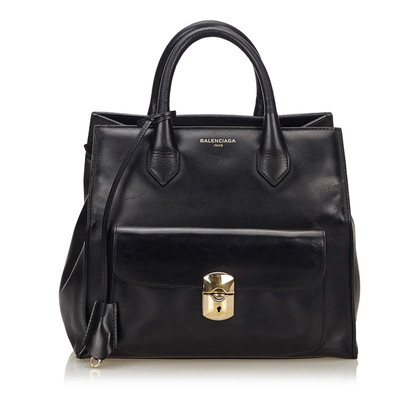 "Balenciaga ""Padlock All Afternoon Bag"""