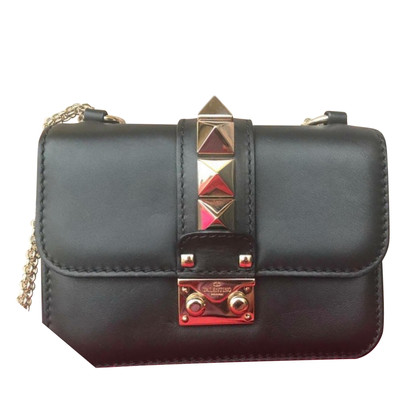Valentino Rockstud Lock Bag Mini