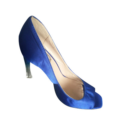 Christian Dior Peeptoes in blue