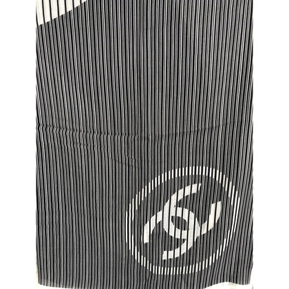 Chanel Kaschmir-Schal mit Logo