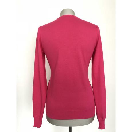 Ralph V Rosa Ralph Ausschnitt Lauren mit Pink Lauren Pullover Pullover mit t00rqzTw