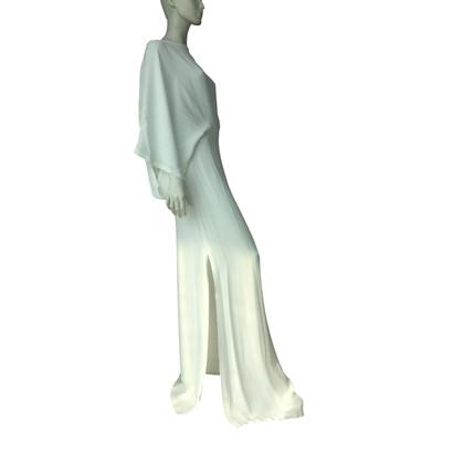 Plein Sud Kleid in Cremeweiß