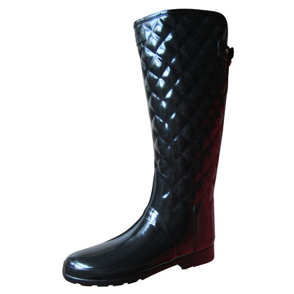 Hunter Rubber boots in the rider look