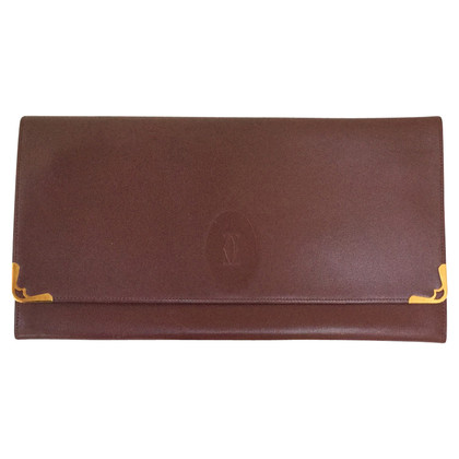 Cartier clutch a Bordeaux