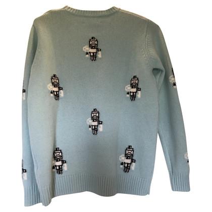 Prada Pullover mit Muster