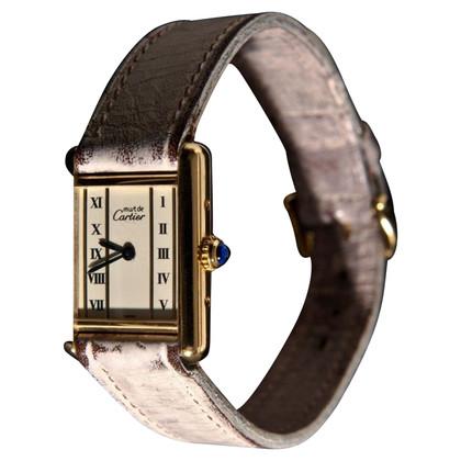 """Cartier """"Tank Vermeil"""""""