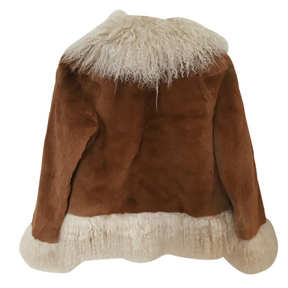Sprung Frères Paris Fur jacket in brown