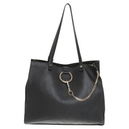"""Chloé """"Faye Tote Bag"""" in zwart"""