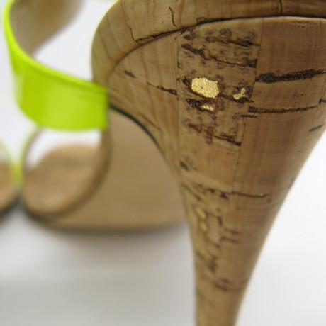 Sandaletten Manolo Sandaletten in Gelb Manolo Gelb Blahnik Blahnik EdqaaI