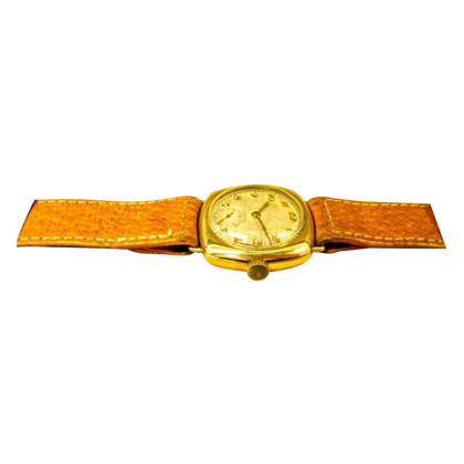 "Longines ""Cushion Art Deco 1920's 18K Gold"""