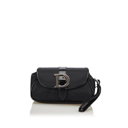 Christian Dior clutch in nero