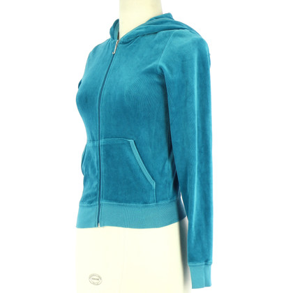 Juicy Couture Sweat jacket in turquoise