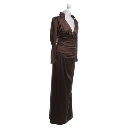 Talbot Runhof Two-piece evening dress made of silk