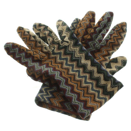 Missoni Gloves with pattern