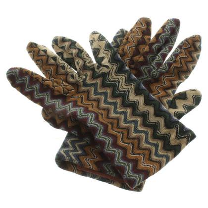Missoni Handschuhe mit Muster