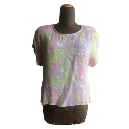 Emanuel Ungaro top with floral pattern