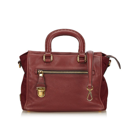 Prada Handbag in Bordeaux