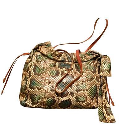 Prada Tote Bag aus Schlangenleder