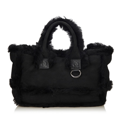 Chanel Handbag with fur trim