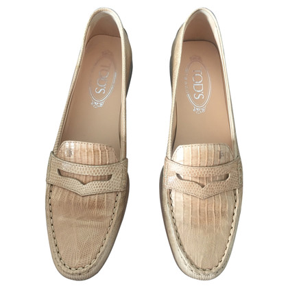 Tod's Loafers made of crocodile leather