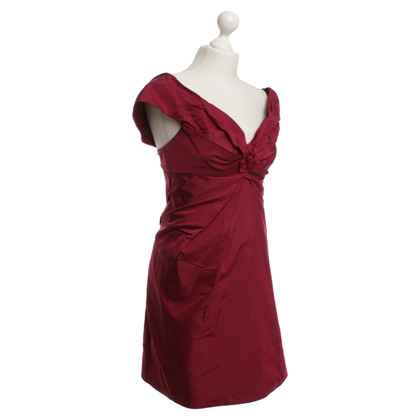 Marc Jacobs Seidenkleid in Bordeaux
