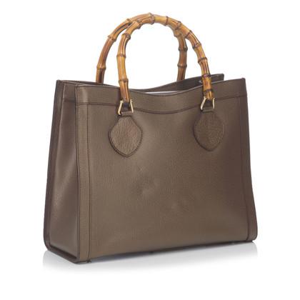 Gucci Tote Bag met bamboe handvat