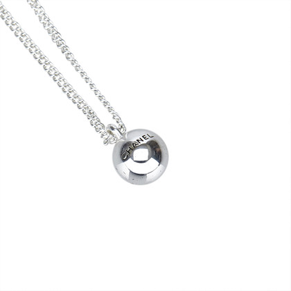 Chanel Zilveren toon ketting