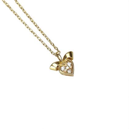 Christian Dior Collana con cuore di diamanti