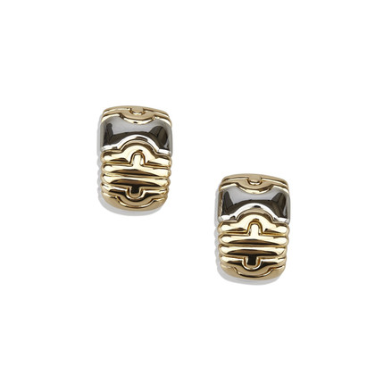 Bulgari Yellow gold earrings