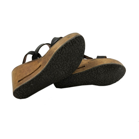 Goose Golden Wedges Golden Goose Schwarz Goose Wedges Golden Schwarz PxqTPd