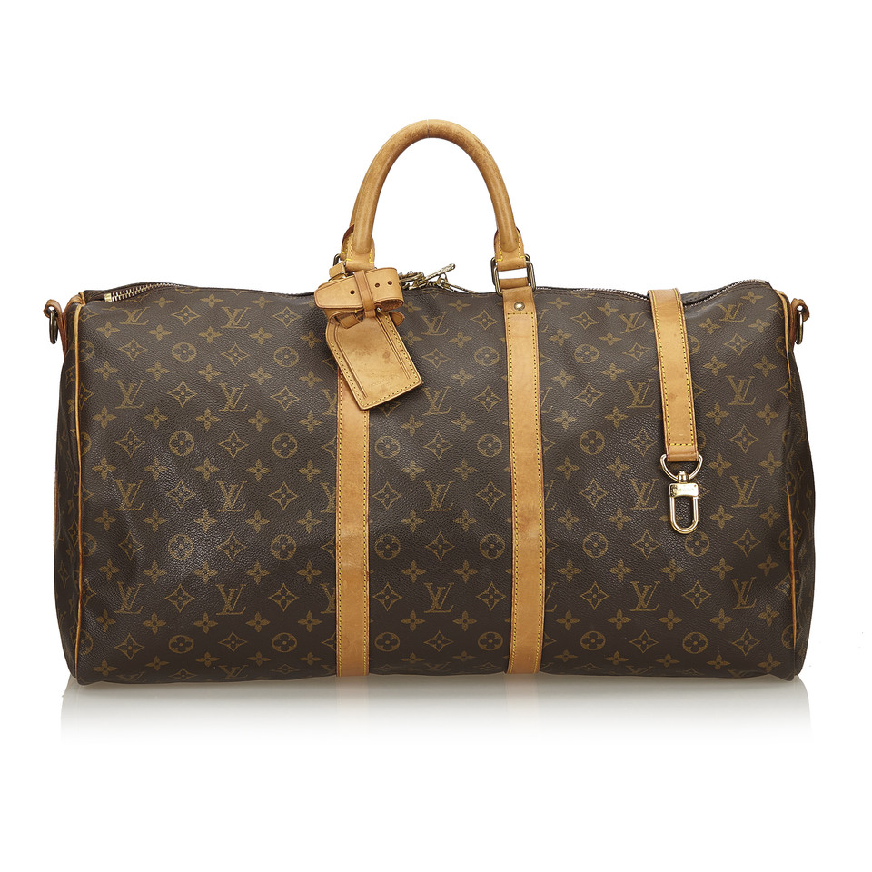 louis vuitton keepall bandouli re 50 monogram canvas second hand louis vuitton keepall. Black Bedroom Furniture Sets. Home Design Ideas