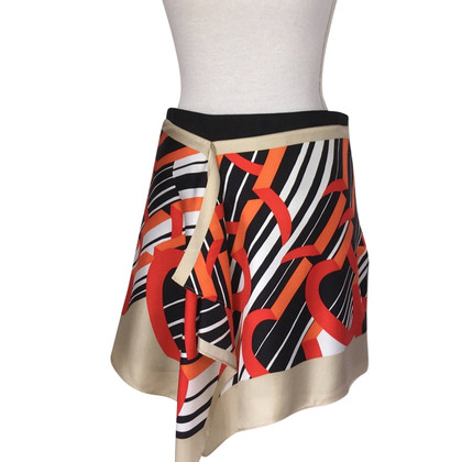 Carven Silk skirt with pattern
