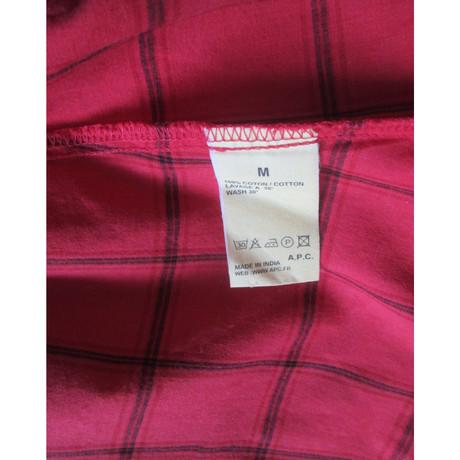 ... Günstig Kauft Heißen Verkauf Shop Günstigen Preis A.P.C. Rock mit Karo-Muster  Rot 8fQhpp0QYt ... 4b58f7e9d8