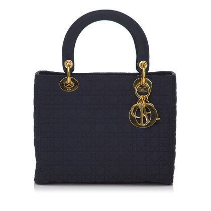 "Christian Dior ""Lady Dior"" in blue"