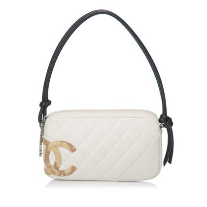 Chanel Schoudertas met gewatteerd patroon