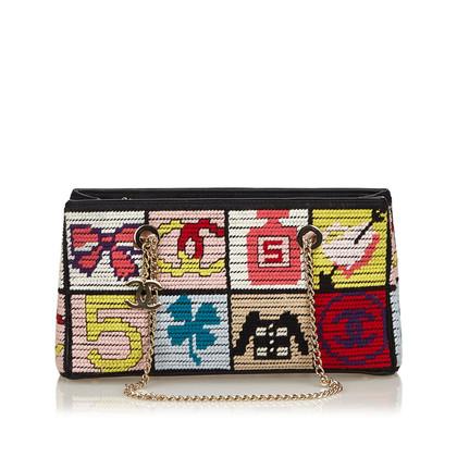 Chanel Schultertasche in Multicolor
