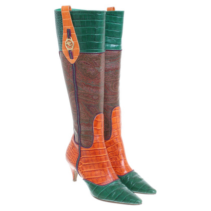 Etro Multi-colored boots