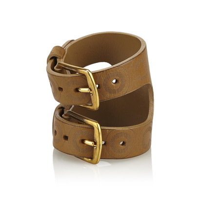 Chanel Leather bracelet in brown