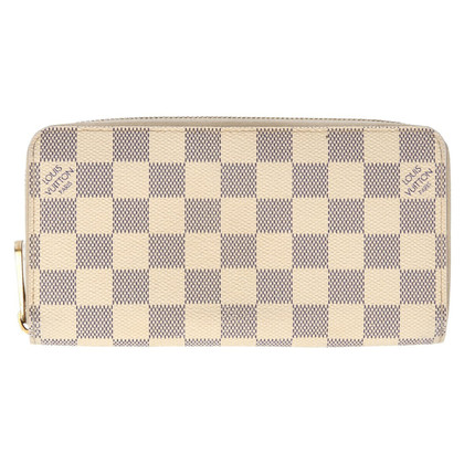 "Louis Vuitton ""Zippy Damier Azur Canvas"""