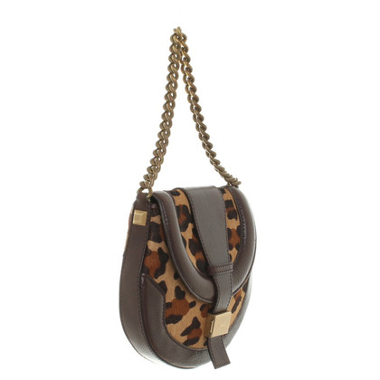 Céline Handbag with leopard print